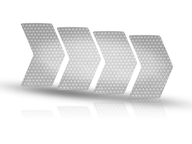 Riesel Design re:flex Autocollant réfléchissant pour jantes, silver